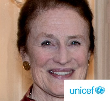 Henrietta H. Fore, Executive Director of UNICEF who kindly supports The Global Classroom in partnership with SHS