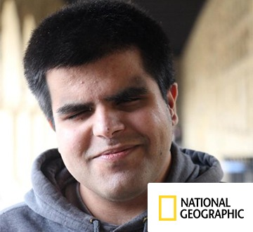 Kartik Sawhney, National Geographic Young Explorer who joined The Global Classroom for Global Generations