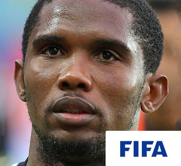 Samuel Etoo, international footballer joined The Global Classroom for their first ever event