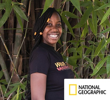 Tiassa Mutunkei, a Kenyan conservation activist, kindly supports The Global Classroom in partnership with SHS